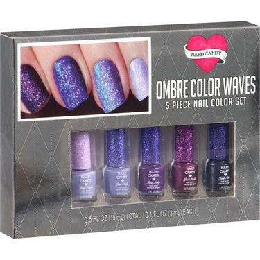 hard candy mini ombre color waves kit (purple)
