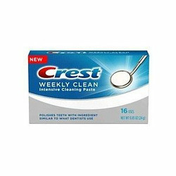 Crest Weekly Clean Intensive Cleaning Paste