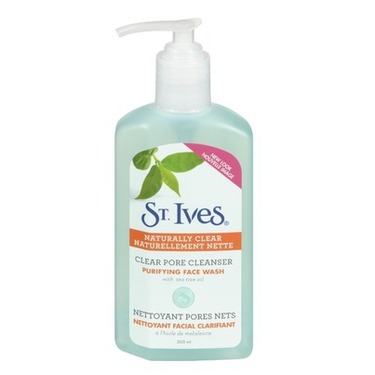 St. Ives Clear Pore Cleanser Purifying Face Wash