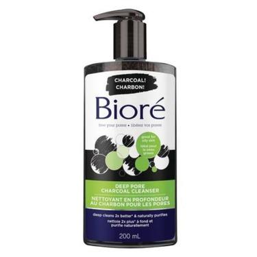 Biore Deep Pore Charcoal Cleanser