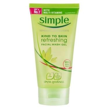 Simple Kind To Skin Refreshing Facial Wash Gel