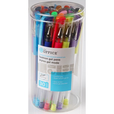 'The Office' or 'Mainstays' Gel Pens