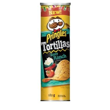 Pringles Tortillas Zesty Ranch