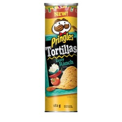 Pringles Tortillas Zesty Ranch