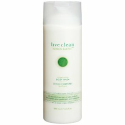 Live Clean Invigorating Body Wash
