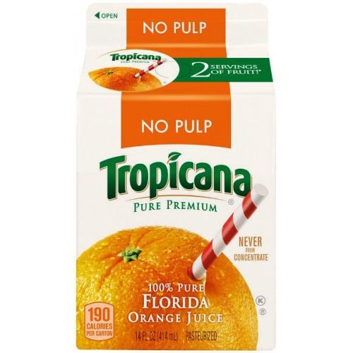 Tropicana Pure Premium No Pulp Orange Juice reviews in ...
