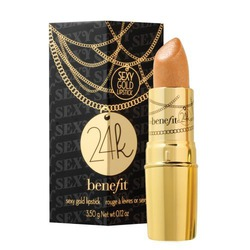 Benefit Cometics 24K Sexy Gold Lipstick