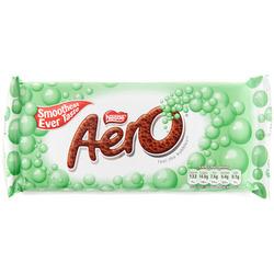 NESTLE AERO Peppermint Milk Chocolate Bubble Bar