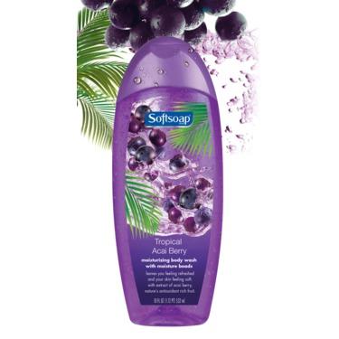 Softsoap Tropical Acai Berry Moisturizing Body Wash