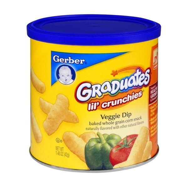 Lil crunchies gerber
