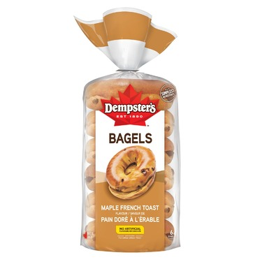Dempster's Maple French Toast Bagels