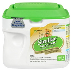 Similac Formula Go and Grow