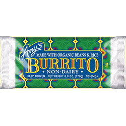 Amy's Bean & Rice Burrito