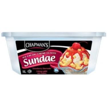 Chapman's Ice Cream Sundae Strawberry Shortcake