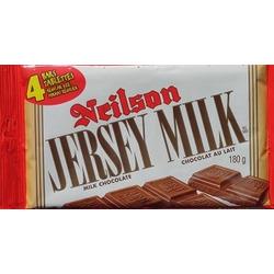 Jersey Milk chocolate bars