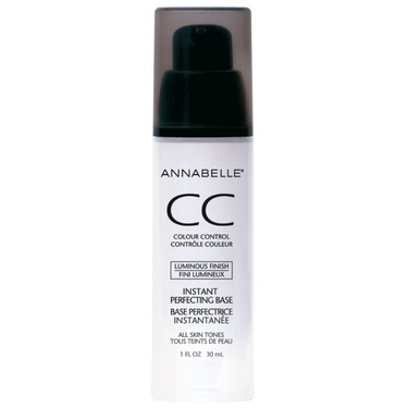 Annabelle Cosmetics CC Colour Control Instant Perfecting Base in Luminous Finish