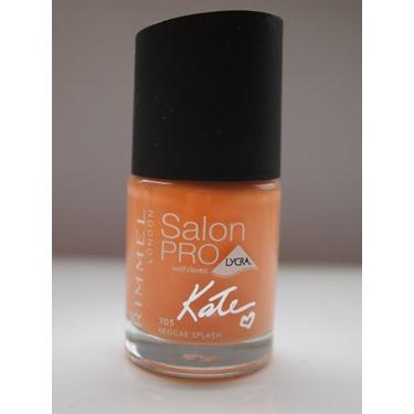 Rimmel London Salon Pro Nail Polish Kate Moss Reggae Splash 705