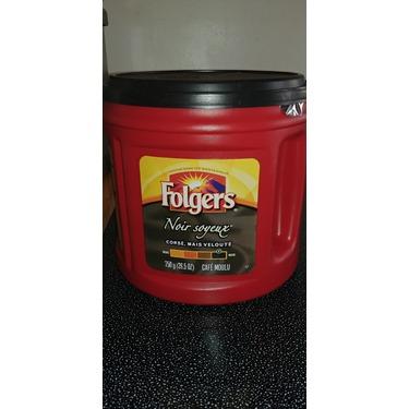 Folgers Black Silk Ground Coffee