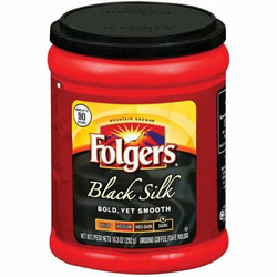 Folgers Black Silk Ground Coffee