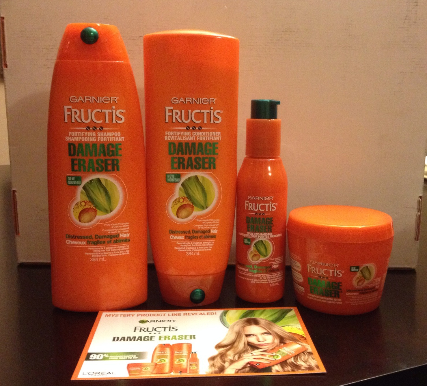 Garnier Fructis Damage Eraser Strength Reconstructing
