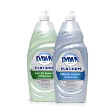 Dawn Ultra Platinum Power Clean Dish Soap