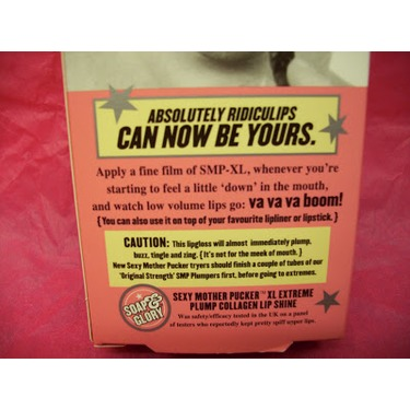 Soap & Glory Sexy Mother Pucker XL Extreme-Plump Collagen Lip Shine