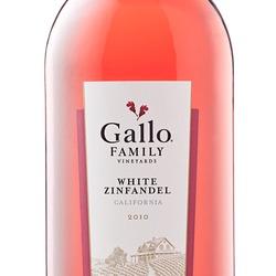E & J Gallo White Zinfandel