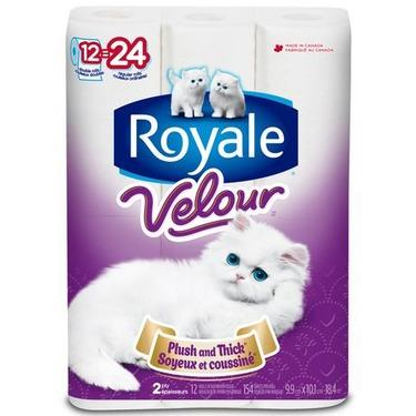 Royale Velour Bathroom Tissue