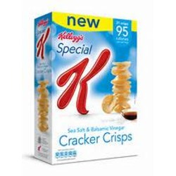 Special K Cracker Crisps Salt and Vinegar