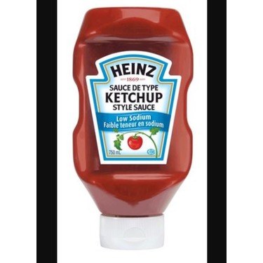 Heinz Ketchup - Low Sodium