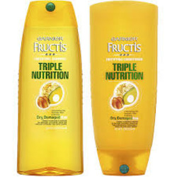 Garnier Fructis Triple Nutrition for Dry, Damaged Hair Shampoo & Conditioner