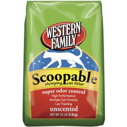 Western Family Clumping Cat Litter