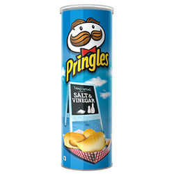 Pringles Salt and Vinegar Potato Chips