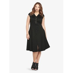 Disney Maleficent Short sleeve coat dress