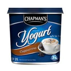 Chapman's Cappuccino Frozen Yogurt
