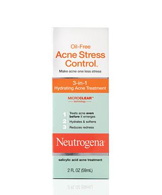 Neutrogena oil free acne stress control review