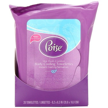 Poise Body Cooling Towelettes
