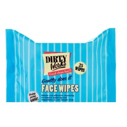 Dirty Work Facial Wipes