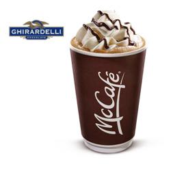 McDonald's Mocha Latte