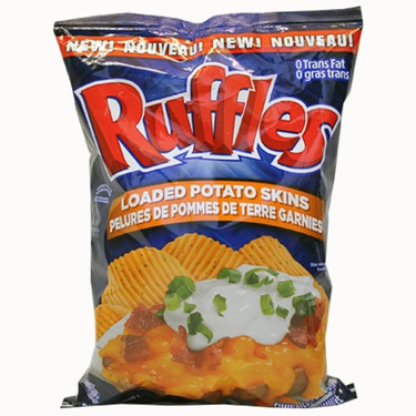 Ruffles Loaded Potato Skins Chips
