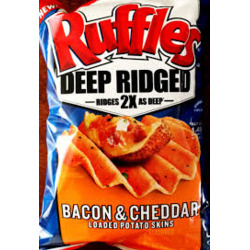 Ruffles Loaded Potato Skins Chips