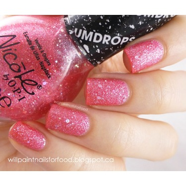Nicole by OPI in Candy is Dandy (Gumdrops)