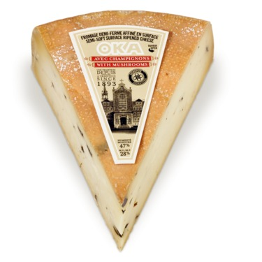 fromage oka aux champignons
