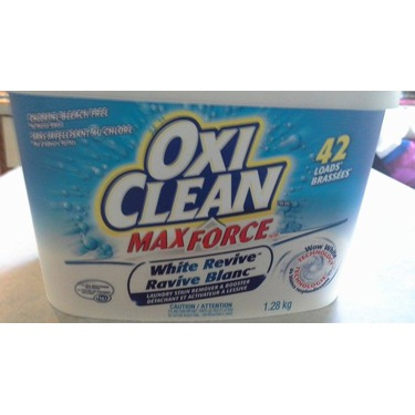 OxiClean Max Force White Revive Laundry Stain Remover & Booster