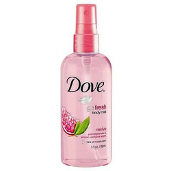 Dove Go Fresh Pomegranate and Lemon Body Mist
