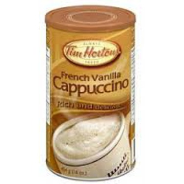 Tim Hortons French Vanilla Cappuccino