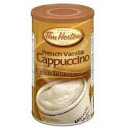 Tim Hortons French Vanilla Cappuccino