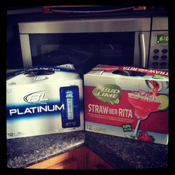 Bud Lime Straw-Ber-Ita