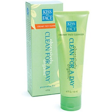 Kiss My Face Clean for A Day Cream Face Cleanser