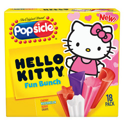 Popsicle - Hello Kitty Fun Bunch Popsicles